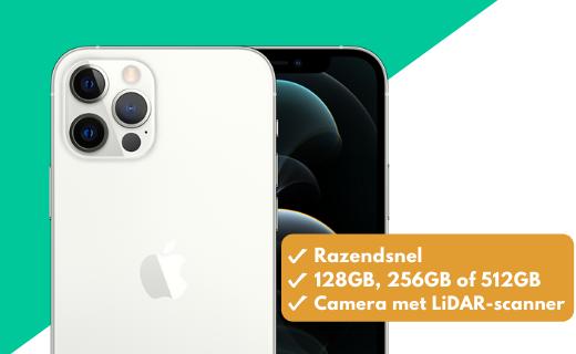 De iPhone 12 tijdelijk met een scherpe korting op unlimited data!