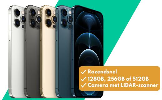 Nu tot €300 korting en drie maanden gratis Apple TV+ bij de iPhone 12 Pro!