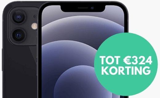 Nu tot €324 korting en drie maanden gratis Apple TV+ bij de iPhone 12!